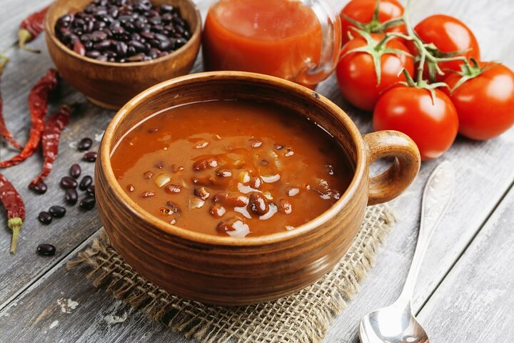 jamaican red peas soup  taste the islands