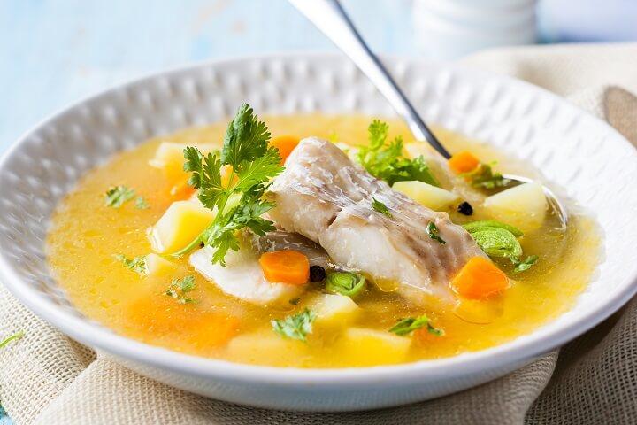 Jamaican Fish Tea - A Light Soup - Taste the Islands
