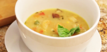 Chef Irie's Shrimp Bisque