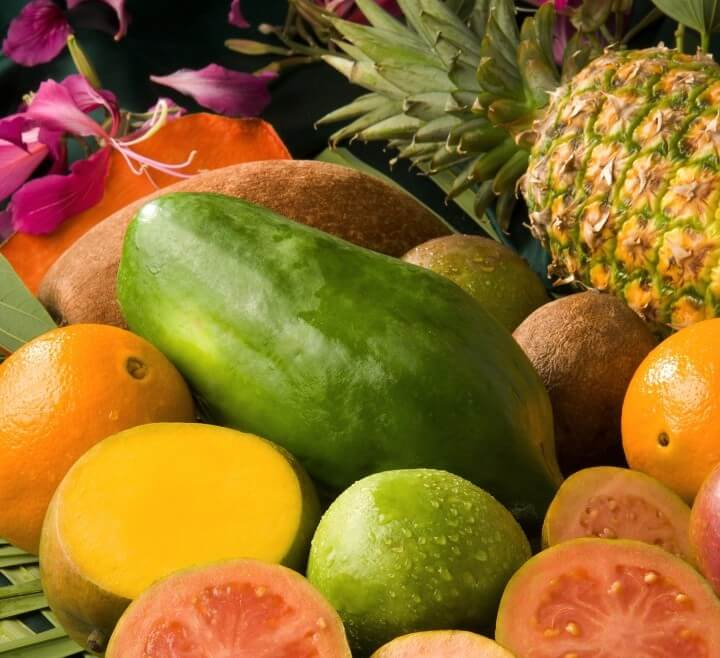 Tropical Fruit - Caribbean food