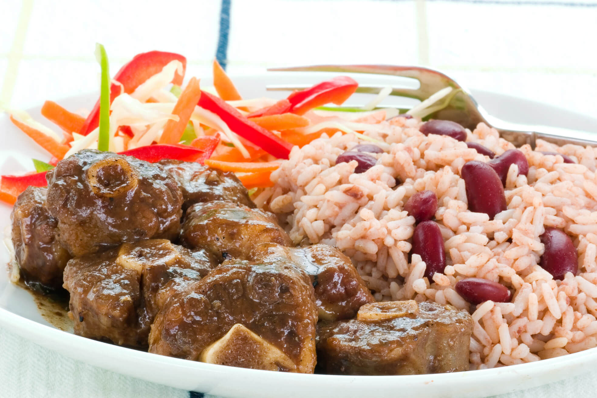 jamaican oxtail recipe - Caribbean recipes - Traditional Jamaican Recipes