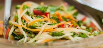 Chef Irie's Chayote Salad