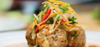 Chef Irie's Picadillo Meatballs