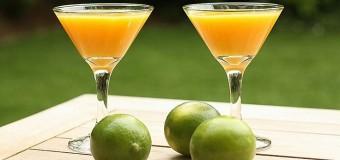 Refreshing Mango Martini