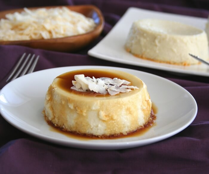 Tembleque / Coconut Flan - Puerto Rican Recipes - Caribbean Recipes