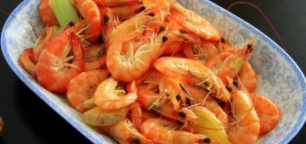 "Peppered Shrimp or ""Pepper Shrimp"""