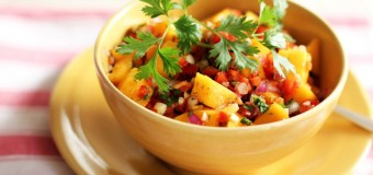 Traditional Latin Mango Salsa