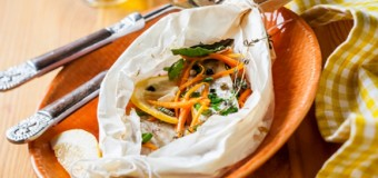 Jamaican style Snapper en Papillote