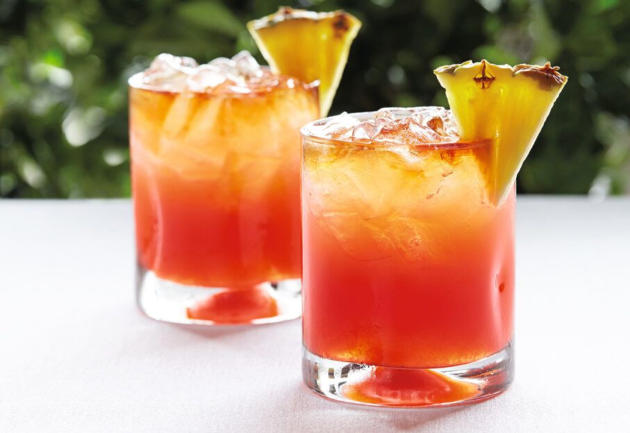 Planters punch cocktail  Bahama Mama Cocktail Recipe - Taste the Islands