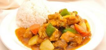 Caribbean Curry Chicken (Curried Chicken)