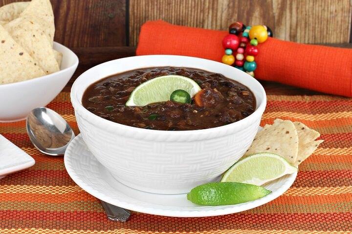 Black bean soup (Frijoles Negros) Recipe