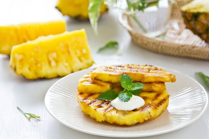 Cuban Grilled Pineapple Recipe