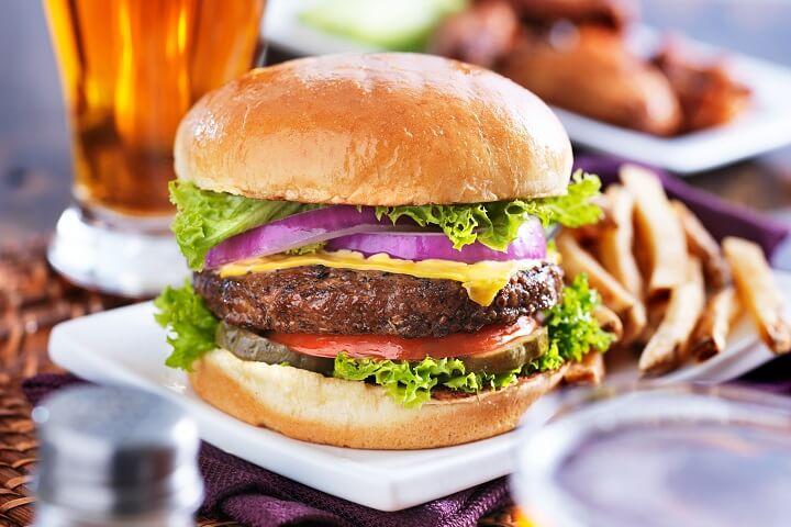 Jamaican Jerk Burgers