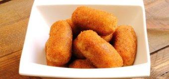 Croquetas de Papas y Jamon (Potato and Ham Croquettes)