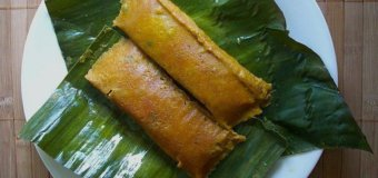 Puerto Rican Guanimes (Plantain Rolls)