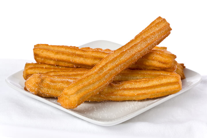 Churros - Cuban Dessert Recipes - Cuban Recipes - Caribbean Recipes