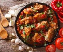 Fricase de Pollo (Cuban Stewed Chicken)