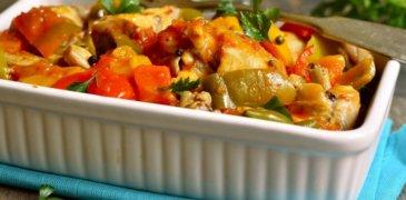 Poule en Sauce (Haitian Stewed Chicken)
