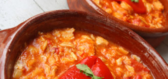 Guanimes Con Bacalao (Puerto Rican Corn Dumplings with Codfish Stew)