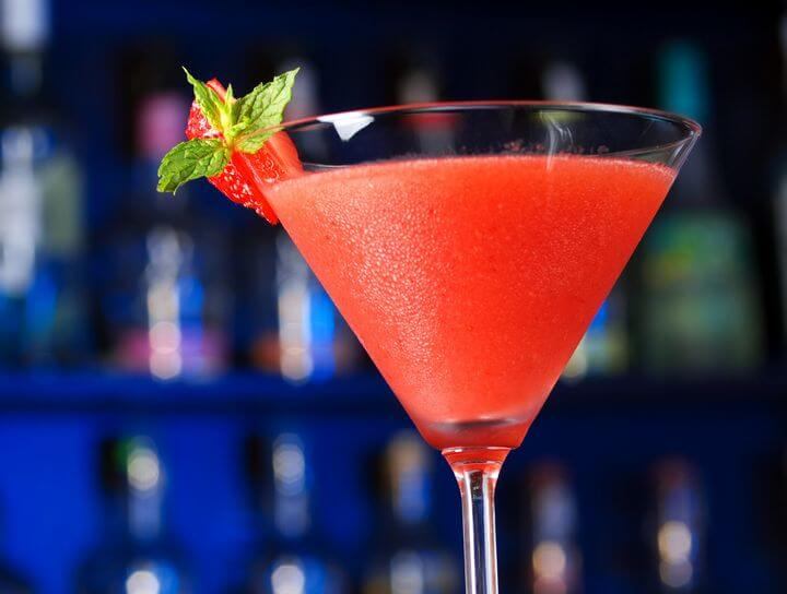 Cuban Daiquiri - Strawberry Daiquiri - Cuban Recipes - Caribbean Recipes