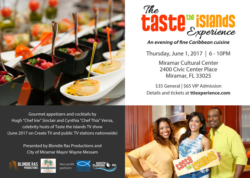 The 'Taste the Islands' Experience Invitation