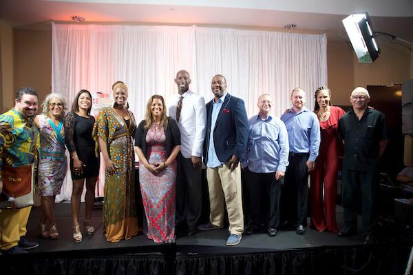 The TTI TV Series Production Team with Miramar Mayor Wayne Messam