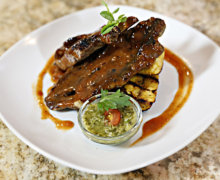Chef Irie's Grilled Lamb Chops