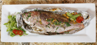 Chef Irie's Roasted Snapper