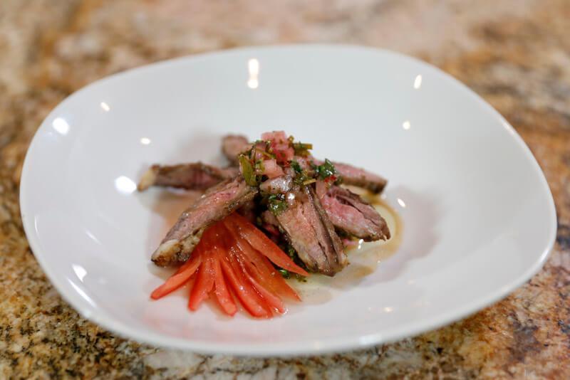 Chef Thia's Churrasco Steak with Chimichurri Sauce