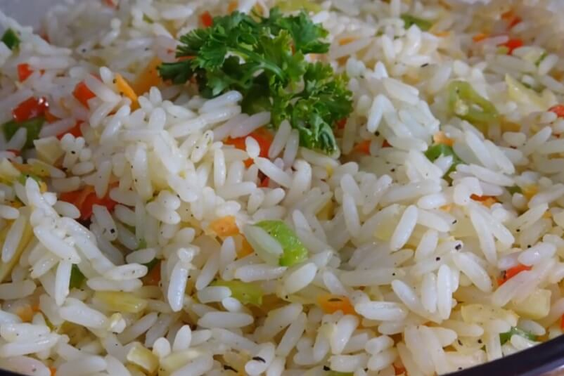 Trinidadian Christmas Rice - Trinidad and Tobago Recipes - Caribbean Recipes