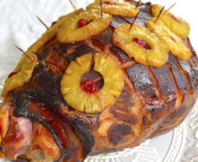 Baked Ham with Pineapple (Jamaican Christmas Ham)